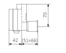 <p>Sans câble (raccordement via câche-fil intégré) (S)</p>