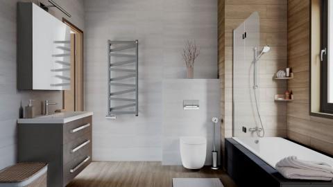Łazienka z grzejnikiem VIPERA ONE