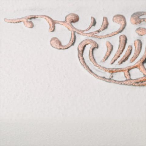 White Soft [eksponowany ornament - Copper]