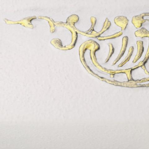White Soft [eksponowany ornament - Gold]